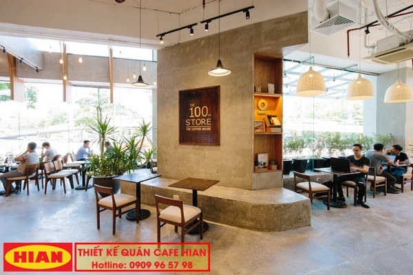 Thiết Kế Quán Cafe The Coffee House
